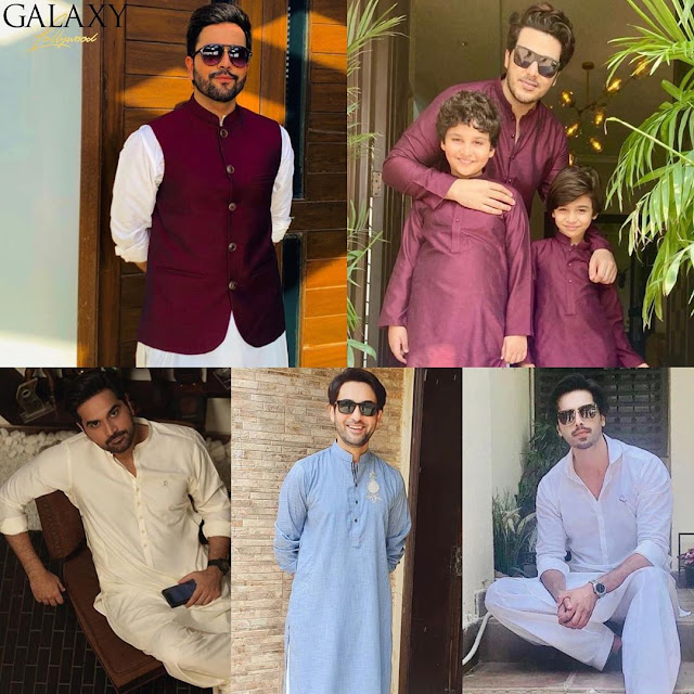 Awesome Pictures of Showbiz Celebrities on Eid Day