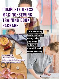 Female Dress Making Training For Nigeria