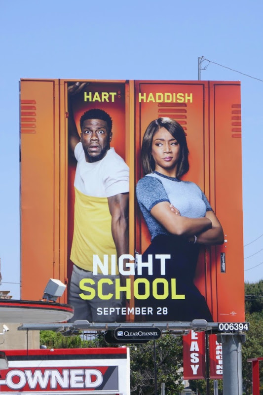 Night School movie billboard