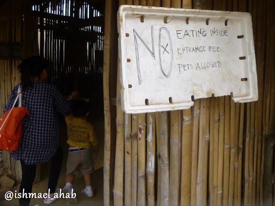 Simple rules in Strawberry Farm in La Trinidad, Benguet
