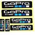 Bộ 6 miếng dán logo Gopro