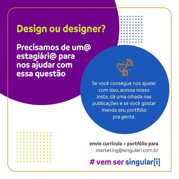 Estágio em Design