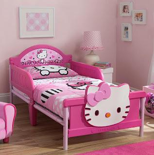 Gambar Ranjang Hello Kitty 7