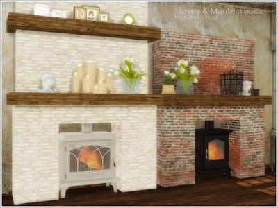 Камины и печи для Sims 4 со ссылками для скачивания
