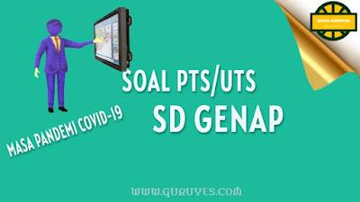 Download Soal PTS Bahasa Indonesia Kelas  Download Soal PTS Bahasa Indonesia Kelas 1 SD Semester 2 Kurikulum 2013