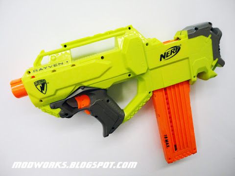 Nerf Rayven - Mod Guide! - Modifications - NerfHaven