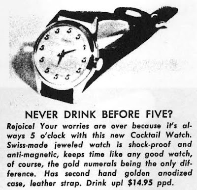 Never Drink Before Five?