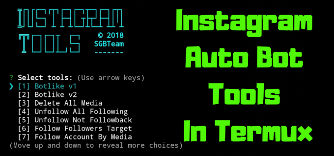 How to Install Most Powerful Instagram Auto Bot Tools In Termux.