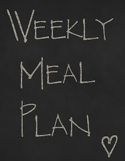 meal+plan Guest Post   Weekly Meal Plans!