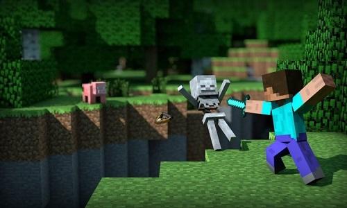 Các đối tượng quái vật và thú hoang trong Minecraft có thể đe dọa người chơi bất cứ lúc nào