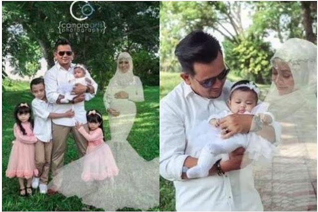 Suami Ini Melakukan Pemotretan Dengan 'Arwah' Istrinya Demi Memenuhi Keinginan Terakhirnya Sebelum Meninggal