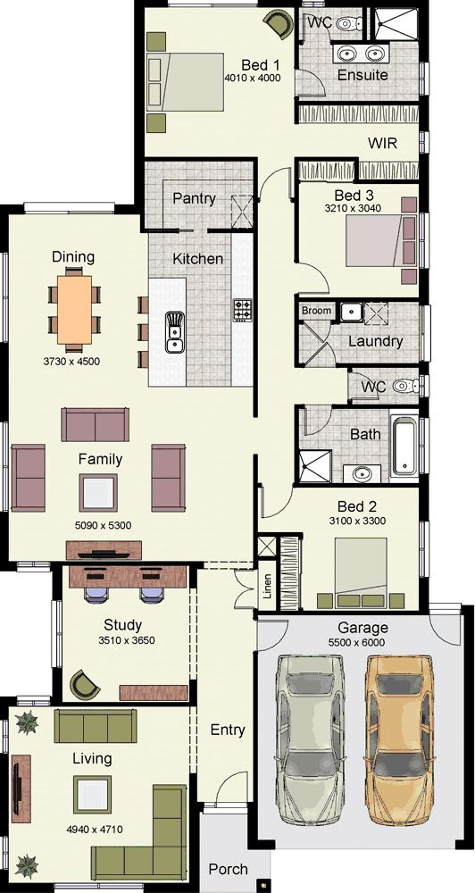 Luxury floor plans for homes with 4 bedrooms for Luxury homes plans