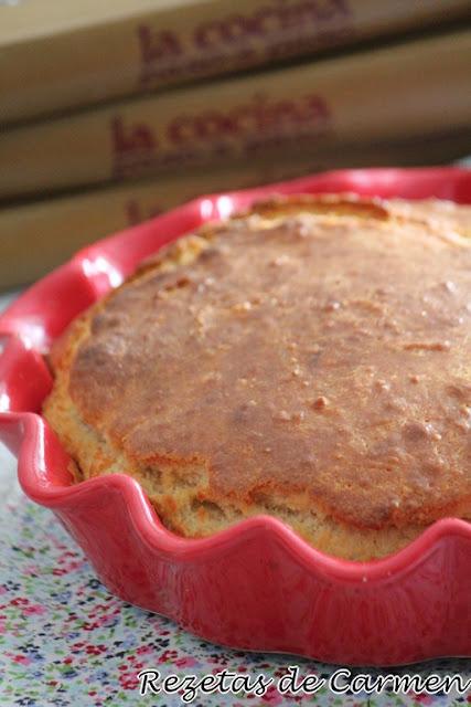 Pan relleno de jamón y queso