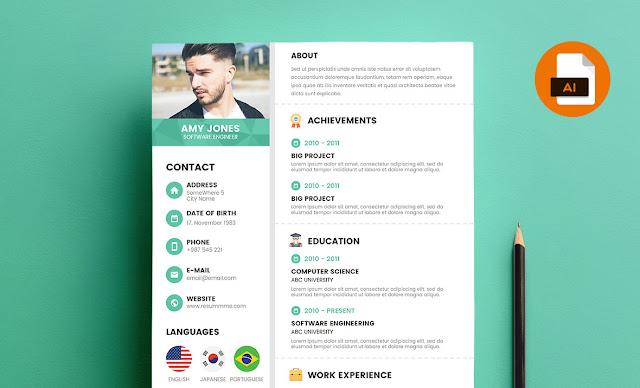 20 plantillas creativas y gratis para que tu currículum sea del otro mundo