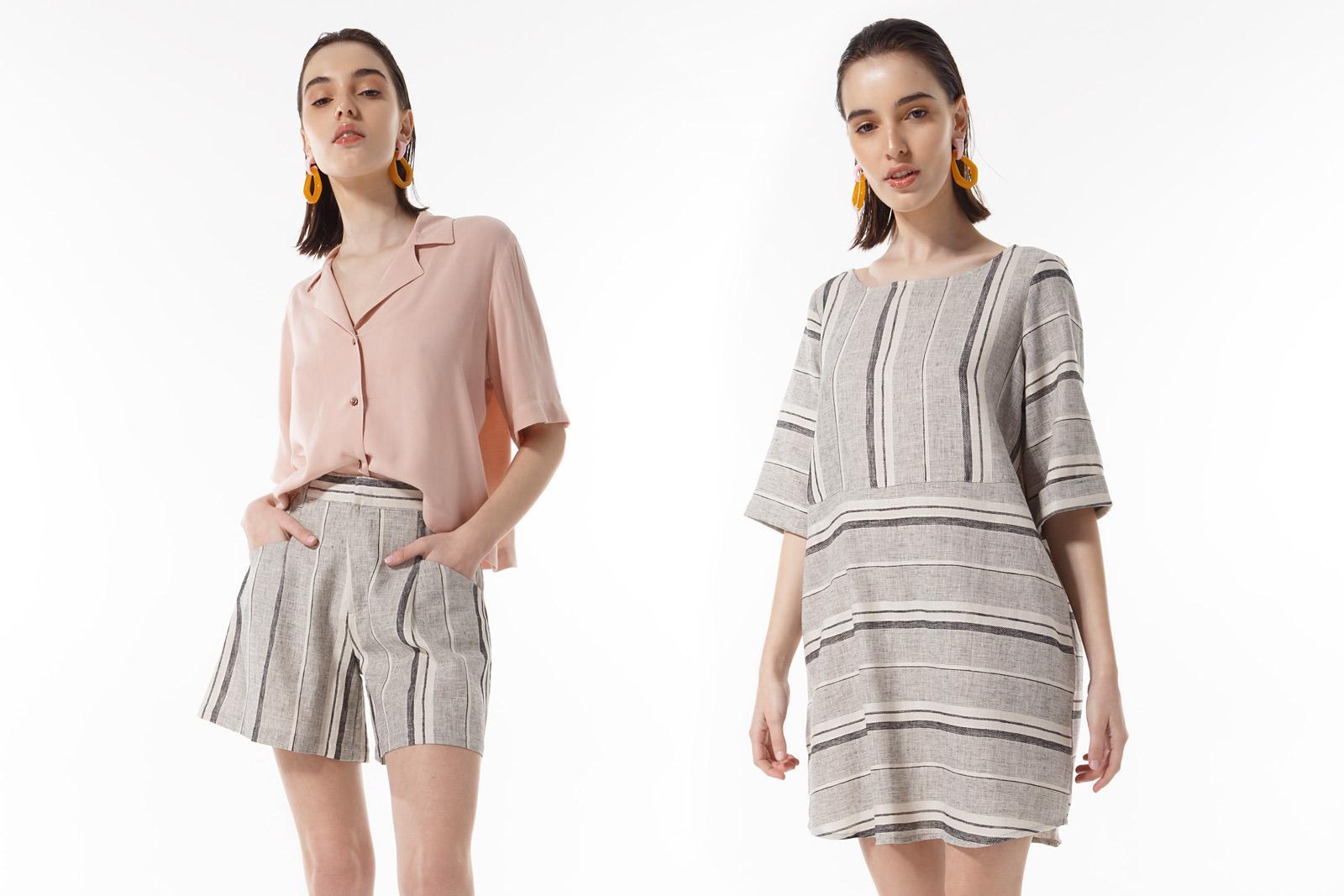 Camisas y bermudas verano 2020 mujer. Moda 2020 casual urbana.