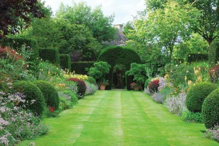 Borduras inglesas para un jard n franc s en la regi n de breta a guia de jardin aprende a for Image jardin paysagiste