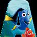 Abecedario Buscando a Nemo y Buscando a Dory. Finding Nemo Alphabet with Dory.