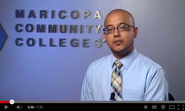 Still frame from YouTube video featuring image of Miguel Hernandez.