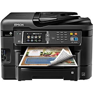 Epson WorkForce WF-3640A Printer Drivers Download