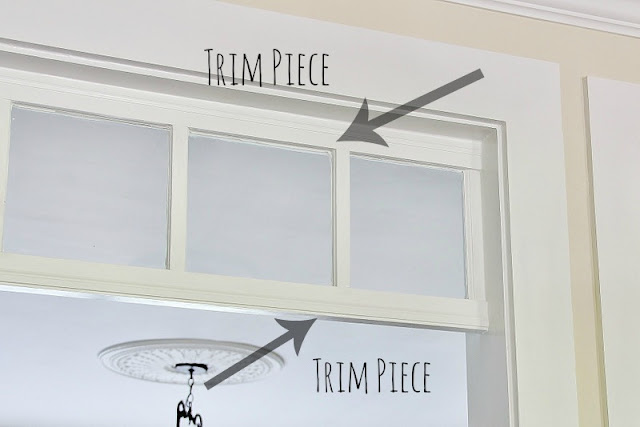 transom windows DIY