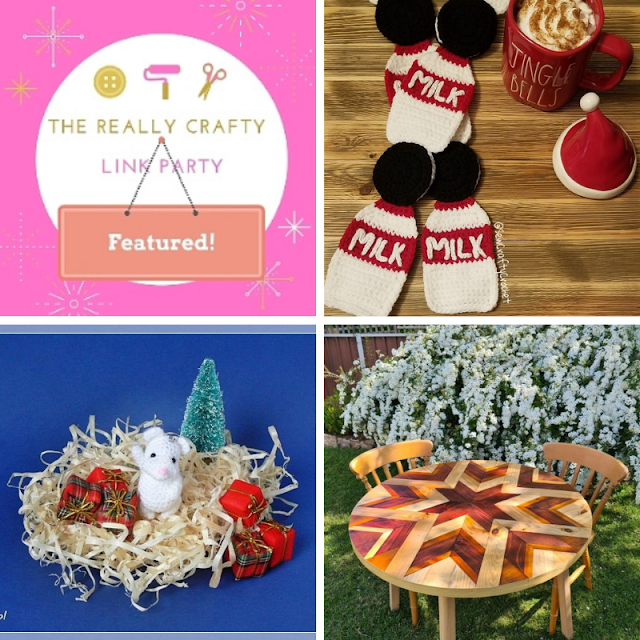 The Really Crafty Link Party #247 featured posts