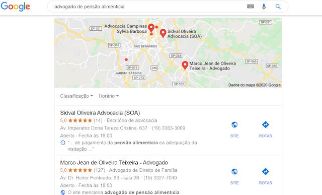 advogado de pensão alimentícia em Campinas São Paulo