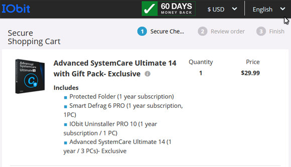 iObit Advanced SystemCare 14 Coupon Promo Discount