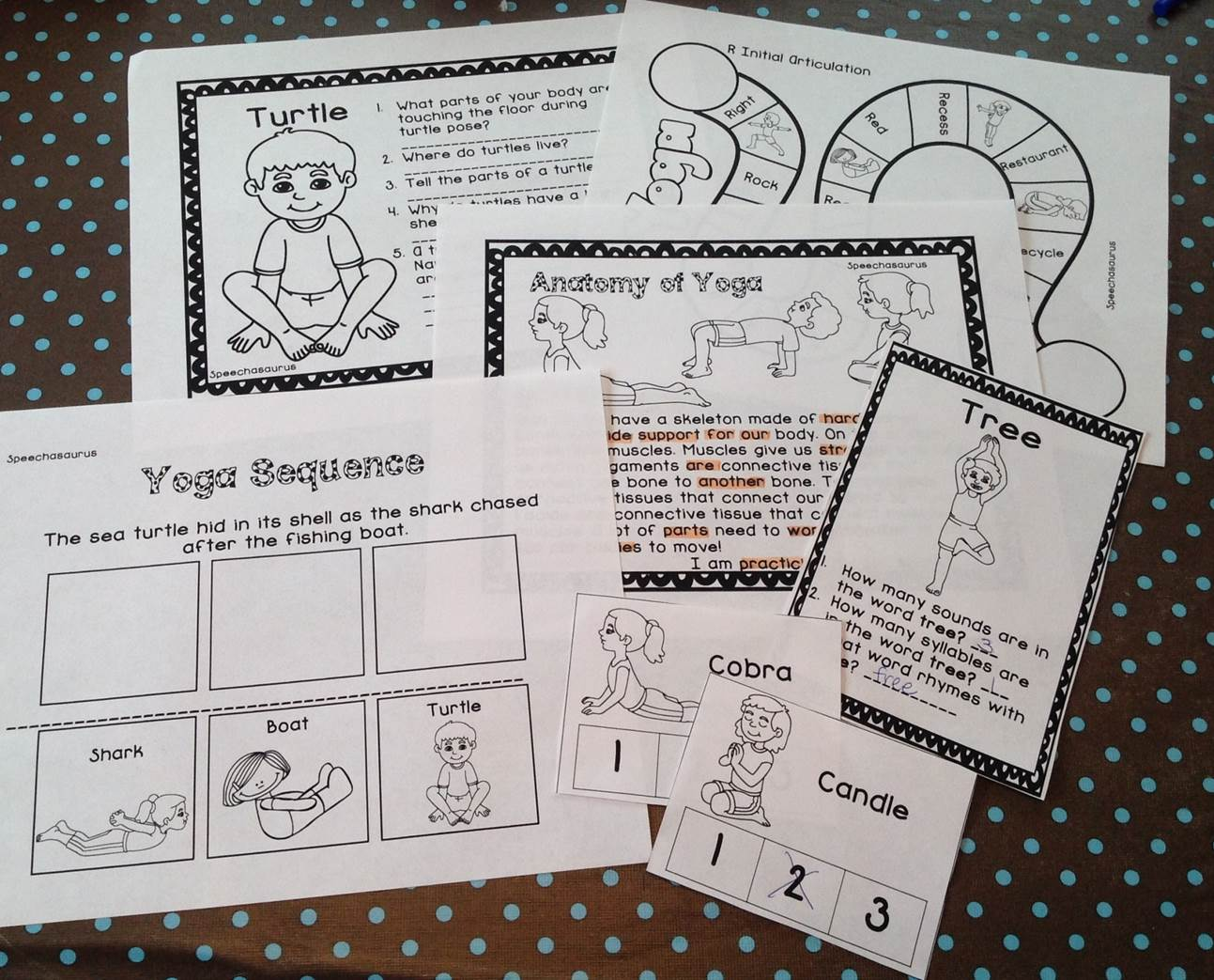 Yoga Activities For Speech And Language