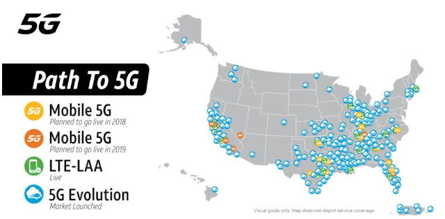 AT&T 5G Coverage Map