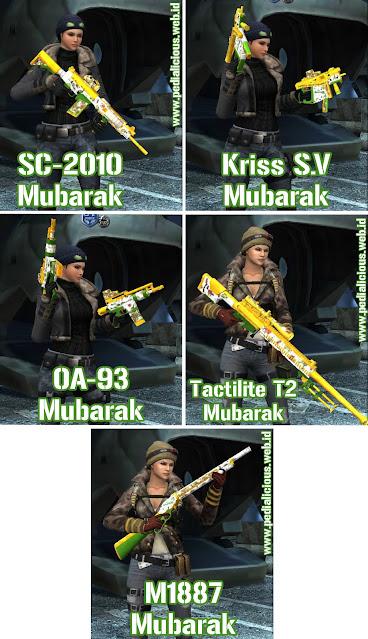 Preview Senjata Rules Seri Mubarak Point Blank Zepetto Indonesia
