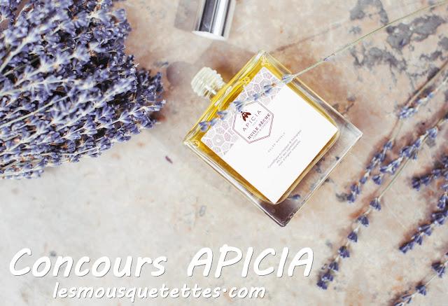 Concours Apicia Blog beauté Les Mousquetettes - Huile Sèche