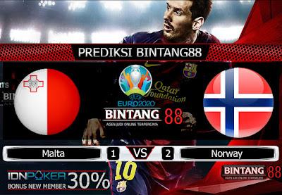 Prediksi Skor Malta vs Norwegia 19 November 2019
