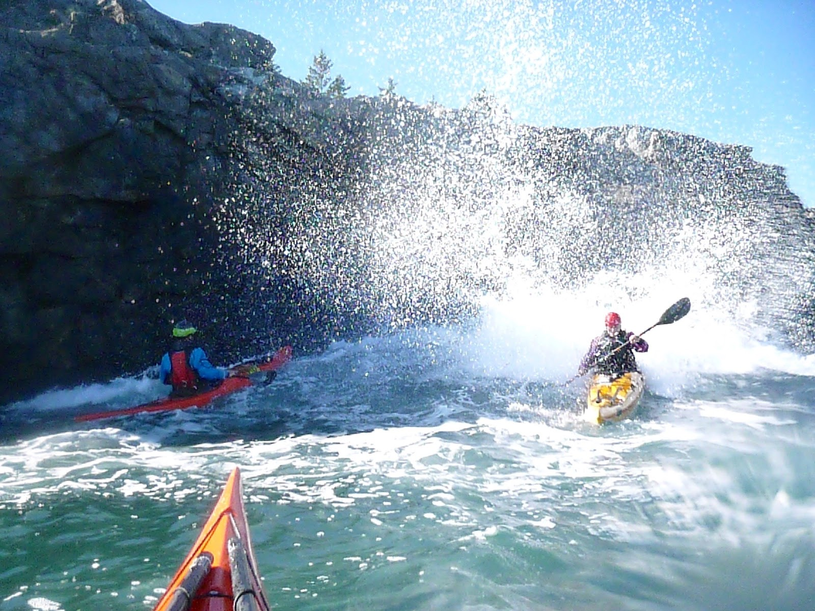 Sea Kayak Stonington Otter Cove To Bar Harbor Or Riding A Giant