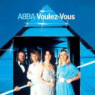 """Capa do disco """"Voulez-Vous"""" que o grupo Abba lançou em 1979."""
