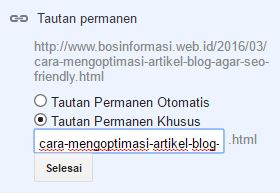Cara Optimasi URL agar SEO Friendly
