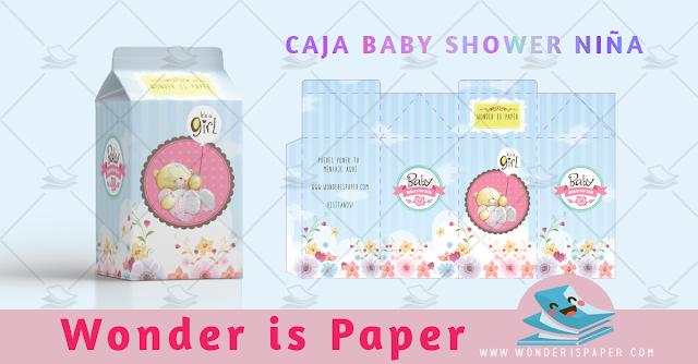 Caja Baby Shower Osa