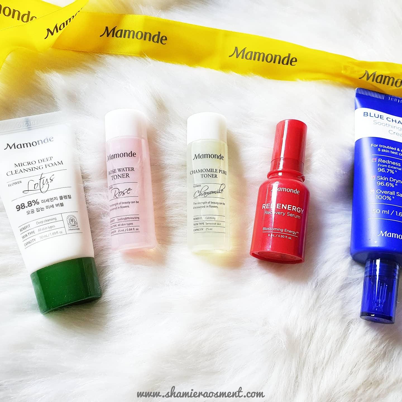 mamonde Repair Cream review, mamonde blue chamomile soothing repair cream review, mamonde blue chamomile soothing repair cream ingredients,