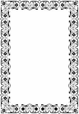 Template Desain Bingkai Piagam Format CorelDraw - DESAIN ...