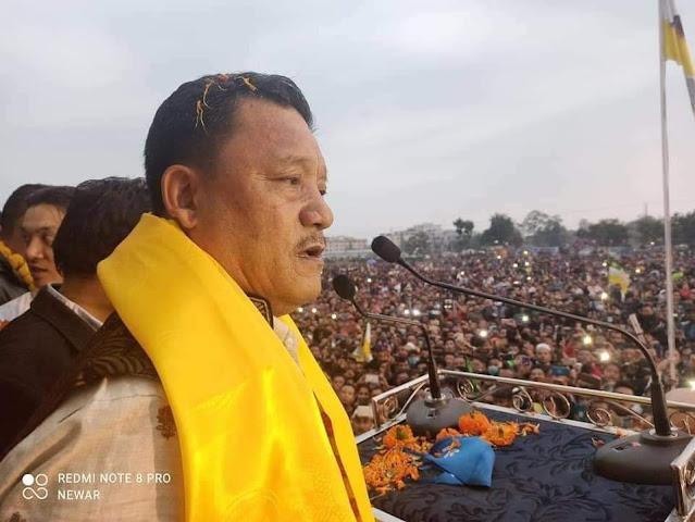 Back, Gurung declares 'war' on BJP