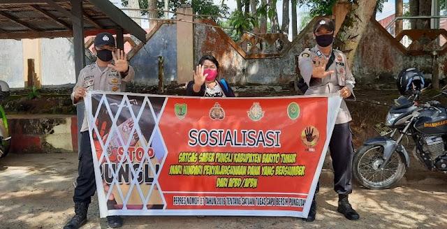 Polsek Dusun Timur Gencarkan Sosialisasi Saber Pungli di Tamiang Layang
