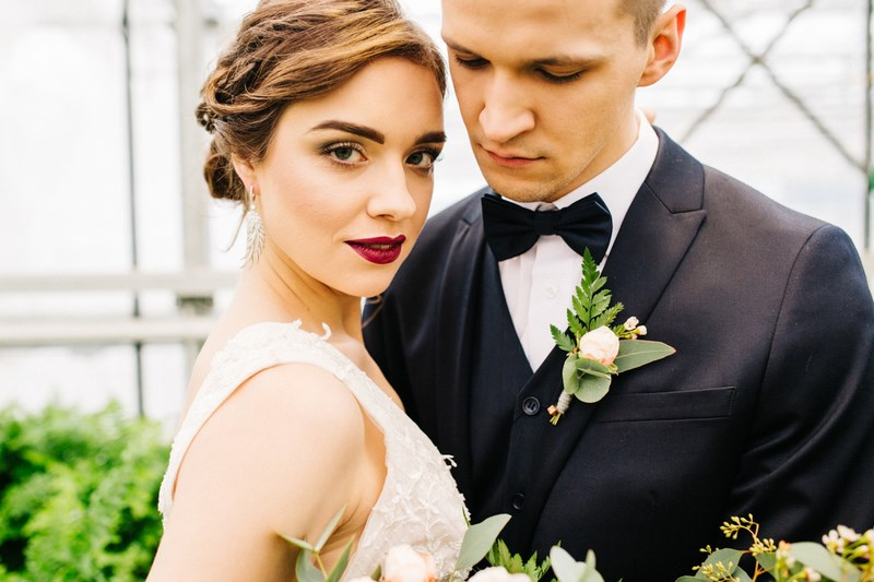Paproć jako motyw przewodni ślubu i wesela