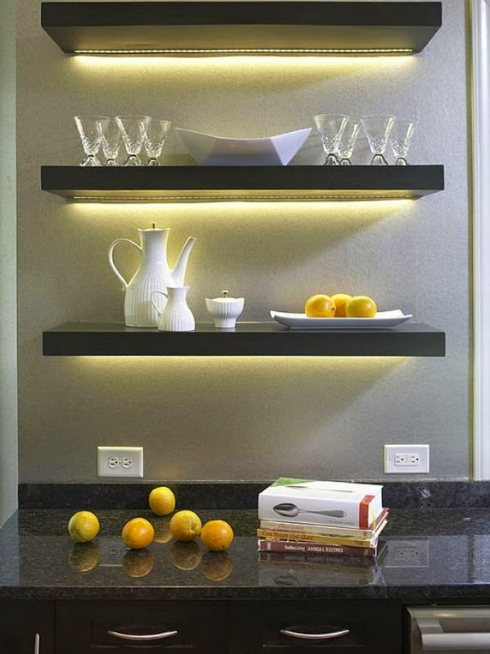CREATIVE STYLISH FLOATING SHELVES