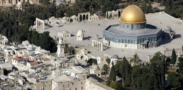 Israel Pasang Pengeras Suara Di Gerbang Wudhu Masjid Al-Aqsa Membuat Marah Umat Islam