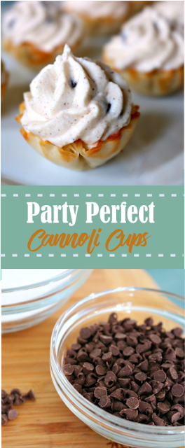 PARTY PERFECT CANNOLI CUPS