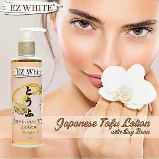 EZ White Japanese Tofu Lotion With Soybean Oil Body Lotion 250ml Original