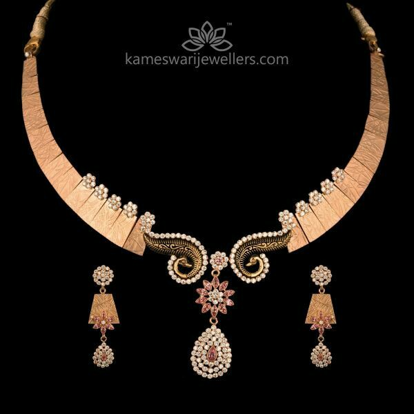 Royal Rose Gold Necklaces