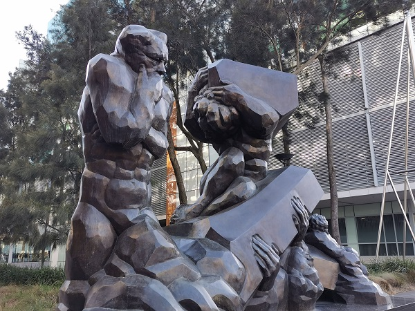 Canberra Public Art | 'Resilience' by Ante Dabro