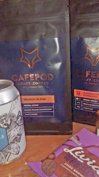 CAFEPOD Brunch Blend Ground Coffee