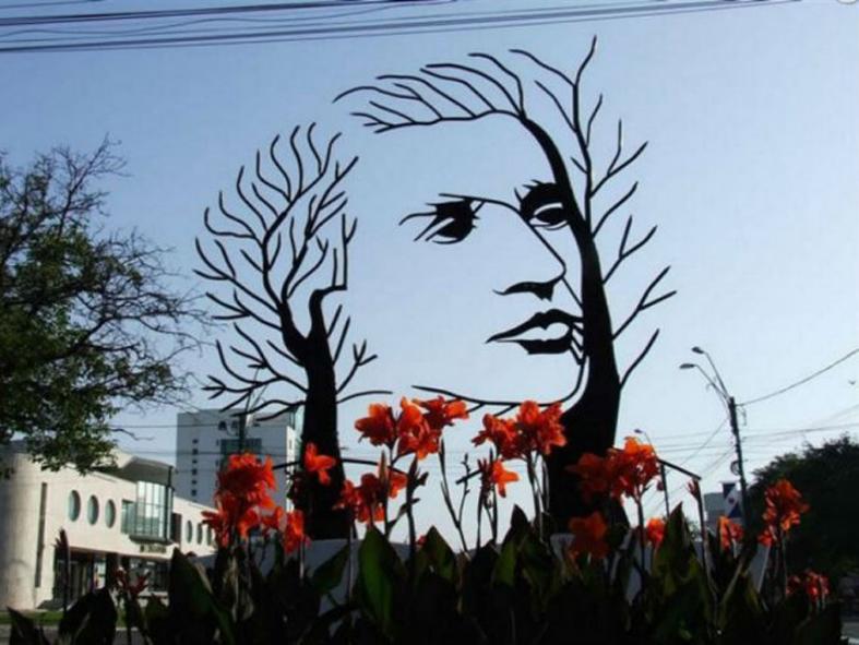 DetalleLogia Esculturas singulares por el mundo