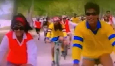 काजोल ने कुछ कुछ होता है क्लिप के साथ मनाया साइकिल दिवस